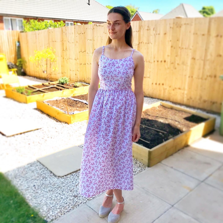 Butterick 6453 dress